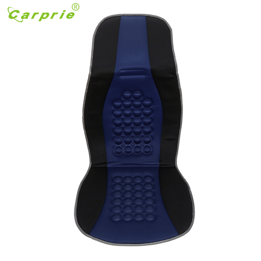 New Arrival CARPRIE 1PC 105 x 45cm Blue Universal Comfortable Car Van Seat Cover Massage Health Cushion Protector Seat Covers