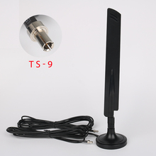New High quality 4G Antenna High Gain Aerial +dbi TS-9 Connector Interface 3meter Cable For Huawei Equipment