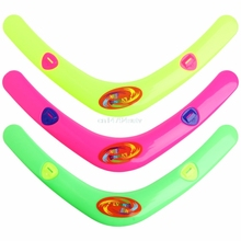V Shaped Boomerang Frisbee Kids Plastic font b Toy b font Throw Catch Outdoor Game H055