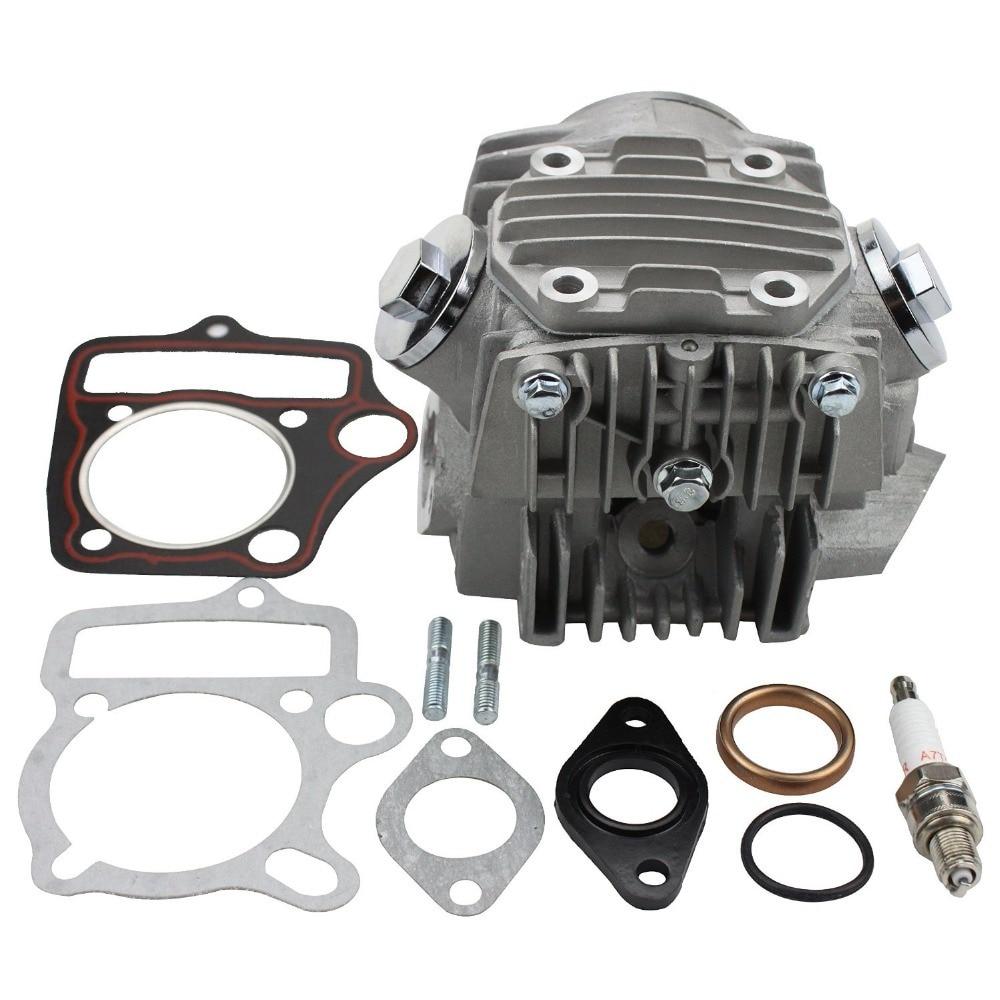 GOOFIT Dokončená hlava válce 110cc Motor pro ATV Go Kart a Dirt - Příslušenství a náhradní díly pro motocykly