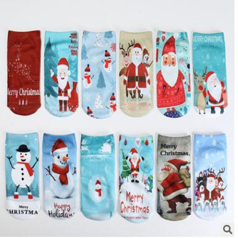 Die Neueste Version Von 3 D Digitaldruck Weihnachtsmann Schiff Socken