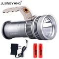 Lumière portative 10W led T6 projecteurs camping lampe de poche projecteur Portable poche projecteur lumière avec une batterie au lithium 18650|spotlight handheld|portable spotlight|handheld spotlight -