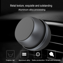 Lantro JS Magnetic Phone Holder Air Vent Mount Car Support Smartphone Voiture