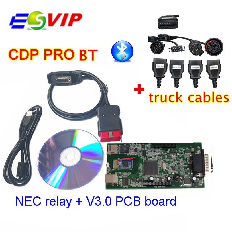 Quality A TCS cdp pro cdp plus with bluetooth 2014 R2 2015 R3 With Keygen 8