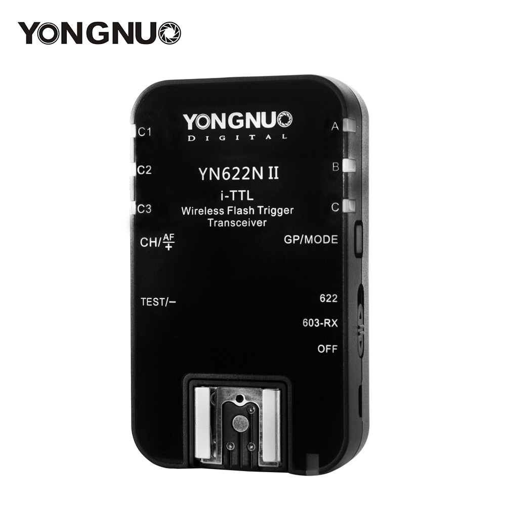 Yongnuo YN 622N II Enkele Transceiver YN 622N II Draadloze TTL Flash Trigger Voor Nikon D70 D70S D80 D90 D200 D300 D300S D600 D800-in Ontspanknop van Consumentenelektronica op  Groep 1