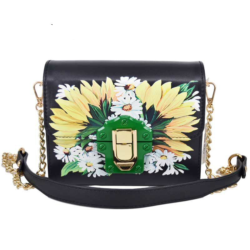 shoulder bag female flower embroidery handbag for women messenger bags envelope crossbody bag Blue/Black 2017 fashion women bag fun flamingo design embroidery handbag for girl hit square bag leisure female shoulder messenger party