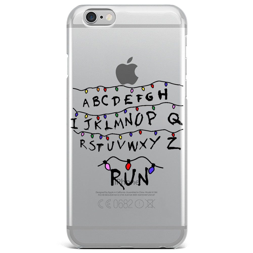 Stranger Things Christmas Lights Case For iPhone 5 5S SE 6 6S Plus 7 ...