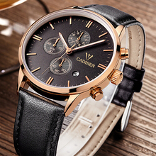 CADISEN Men Watches Top Brand Luxury Sports Watch Men's Quartz Analog Clock Male Military Casual Watch Relogio Masculino