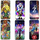 Japanese game The Legend of Zeldas Breath of the Wild Sheikah Slate Hard Phone Case For iPhone X 5 5s SE 6 6sPlus 7 7Plus 8 Plus