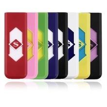 8 Colors Portable Electronic USB Rechargeable Lighter Flameless Cigar Cigarette Lighter Silent Windproof No Gas Cigar Lighter