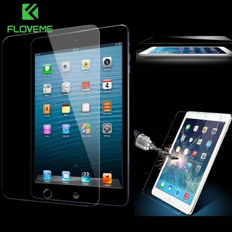 FLOVEME For iPad Mini 4 Tempered Glass Screen Protector 0.3mm Super Clear Toughened Premium Guard Film For Apple iPad mini4 Mini