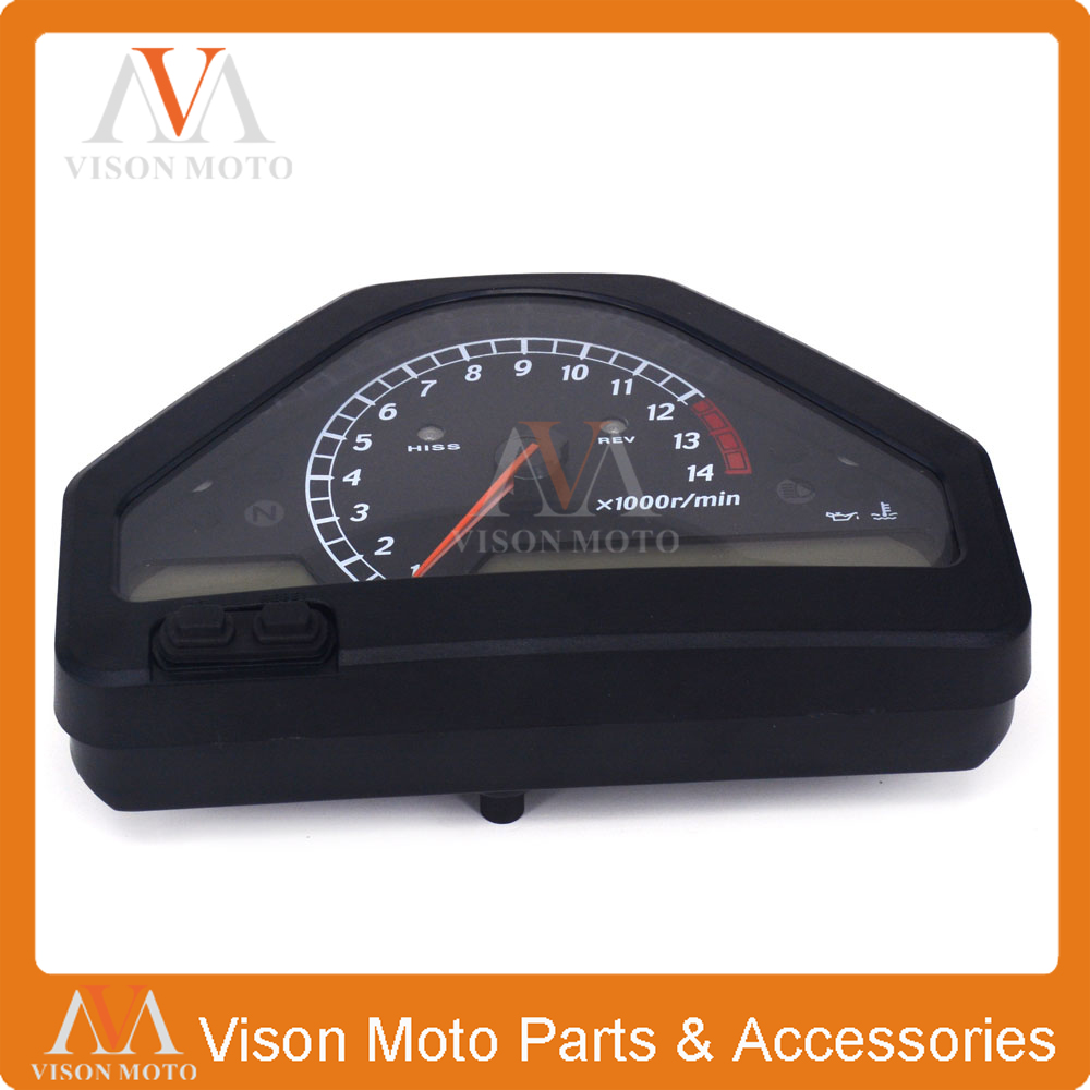 Motorcycle Speedometer Clock Instrument Gauges Odometer Tachometer  For HONDA CBR1000RR 2004 2005 2006 2007 motorcycle speedometer speedo meter gauge tachometer instrument case cover for 2004 2005 2006 2007 honda cbr1000rr cbr 1000 rr