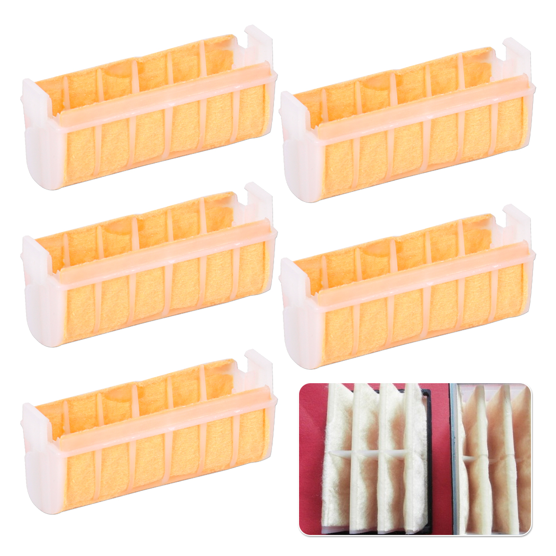 LETAOSK New 5 Pcs Air Filter Replacement Fit For Stihl MS210 MS230 MS250 021 023 025 Chainsaw