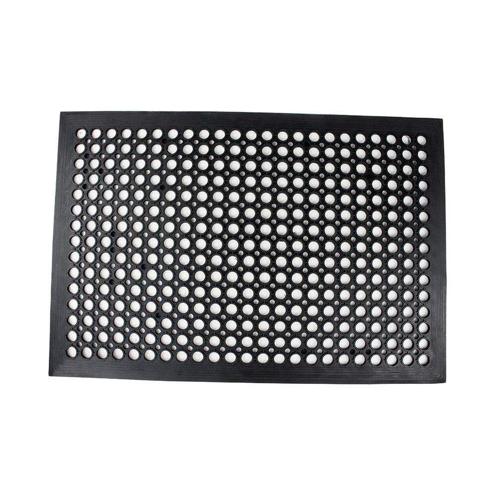 Rubber floor mats price - 1pc Rubber Floor Mat Industrial Entrance Flooring Heavy Duty Anti Fatigue Non Slip Black 610