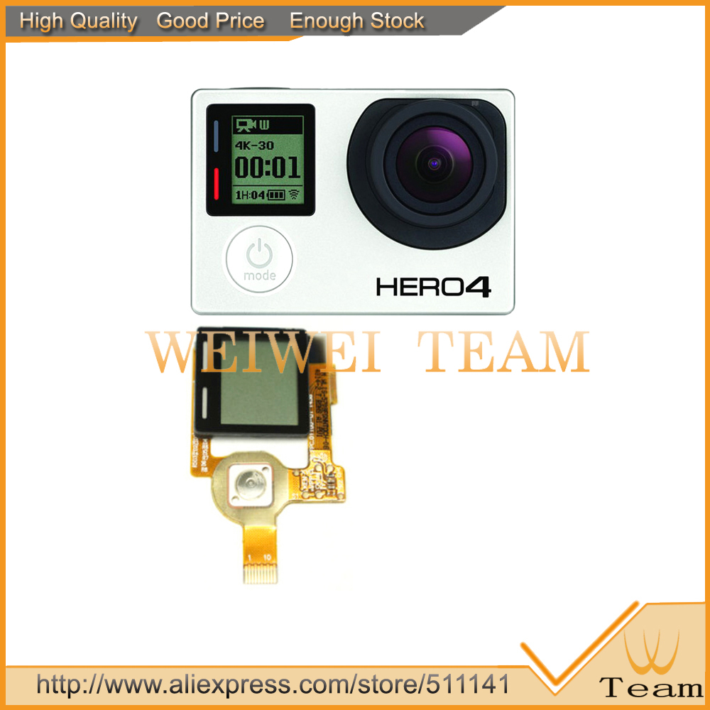 NEW Original HD For Gopro Hero4 Camera Fuselage Gopro4 Front LCD Display Screen Parts Repair Replacement 100 Tested In Mobile Phone LCDs From Cellphones