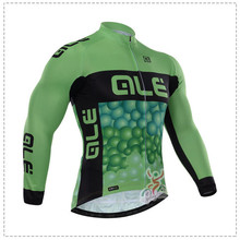 2016 New Arrivals Men's ALE pro team Cycling long sleeve jersey cheap-clothes-china Outdoor Bicycles ropa ciclismo hombre Sport