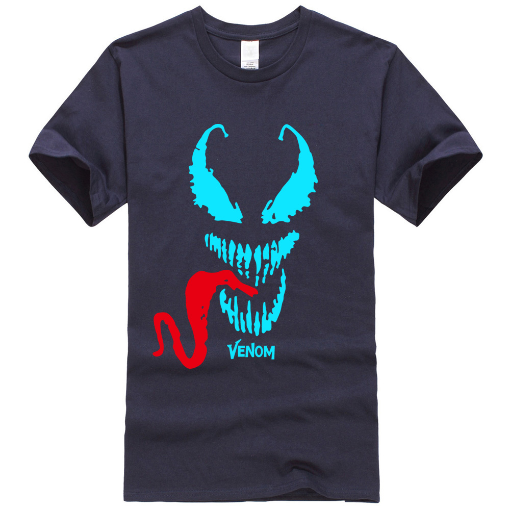Tops Tee Homme casual camisetas 2019 casual Cotton T-shirts men Anime Movie man's Comic Originality Venom T Shirt streetwear new