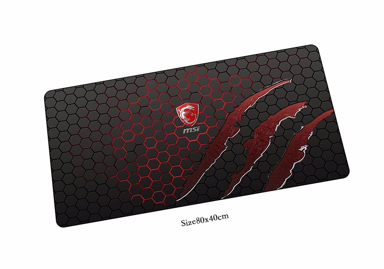MSI mouse pad High quality pad to mouse notbook computer mousepad cool gaming padmouse g ...