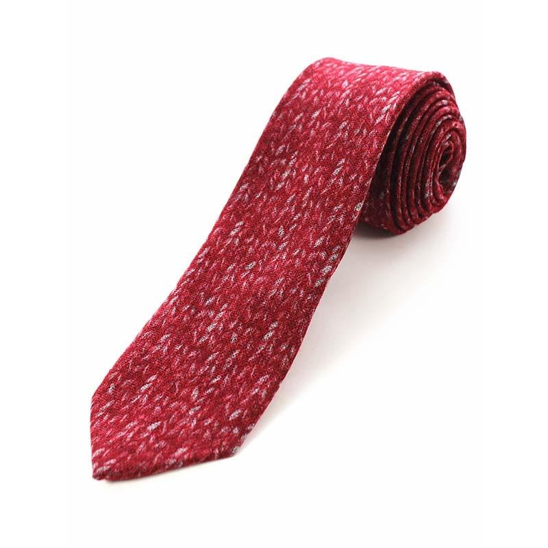 JEMYGINS Original High Quality Cotton 2 4 Skinny Plaid Solid Cashmere Tie Wool Men Neck Tie