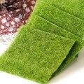 Nova Micro Paisagem Decoração DIY Mini Fada Do Jardim Plantas de Simulação Artificial Falso Musgo Decorativos Gramado Relva Verde Grama