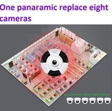 Новинка 2017 года 960 P 3D VR WI-FI IP Камера панорамного обзора 360 градусов Ночное видение мини Беспроводной Мониторы 1.3MP видеонаблюдения Камера p2P