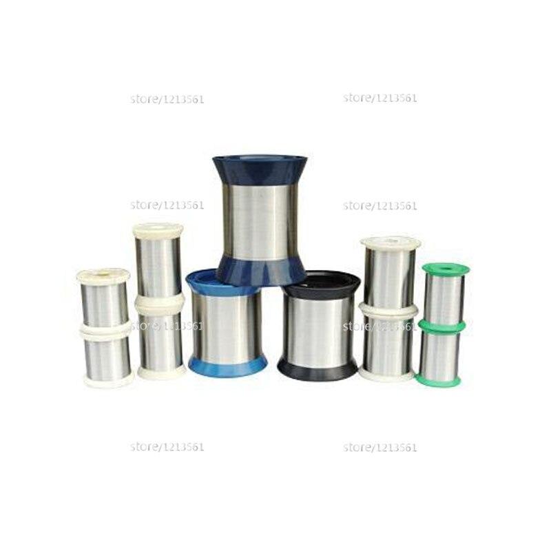 Ketten Analytisch Aluminium Draht 0,05mm 0,01mm 0,02mm 0,03mm 0,04mm 0,1mm 0,15mm 0,2mm 0,10mm 0,20mm Durchmesser Reinem Zoll Micro Spule Kapillare Frühling Up-To-Date-Styling