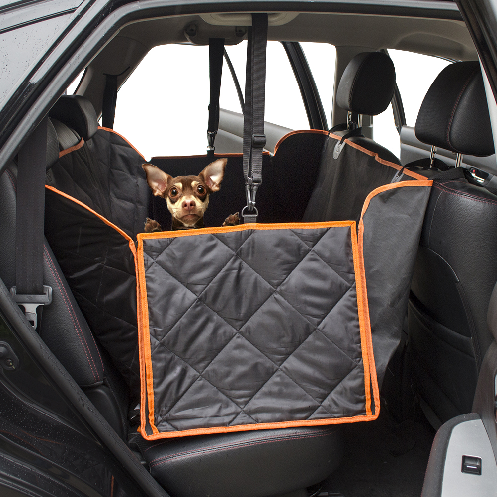 Waterproof Quilted Non-slip Pet Dog Car Seat Cover Hammock Pet Accessories Mat Blanket Back Seat Protector