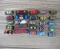 15Pcs Colorful Dread Dreadlock Bead Fabric Dreadlock Bead