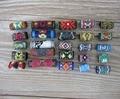 15Pcs Colorful Dread Dreadlock Bead Fabric Dreadlock Bead