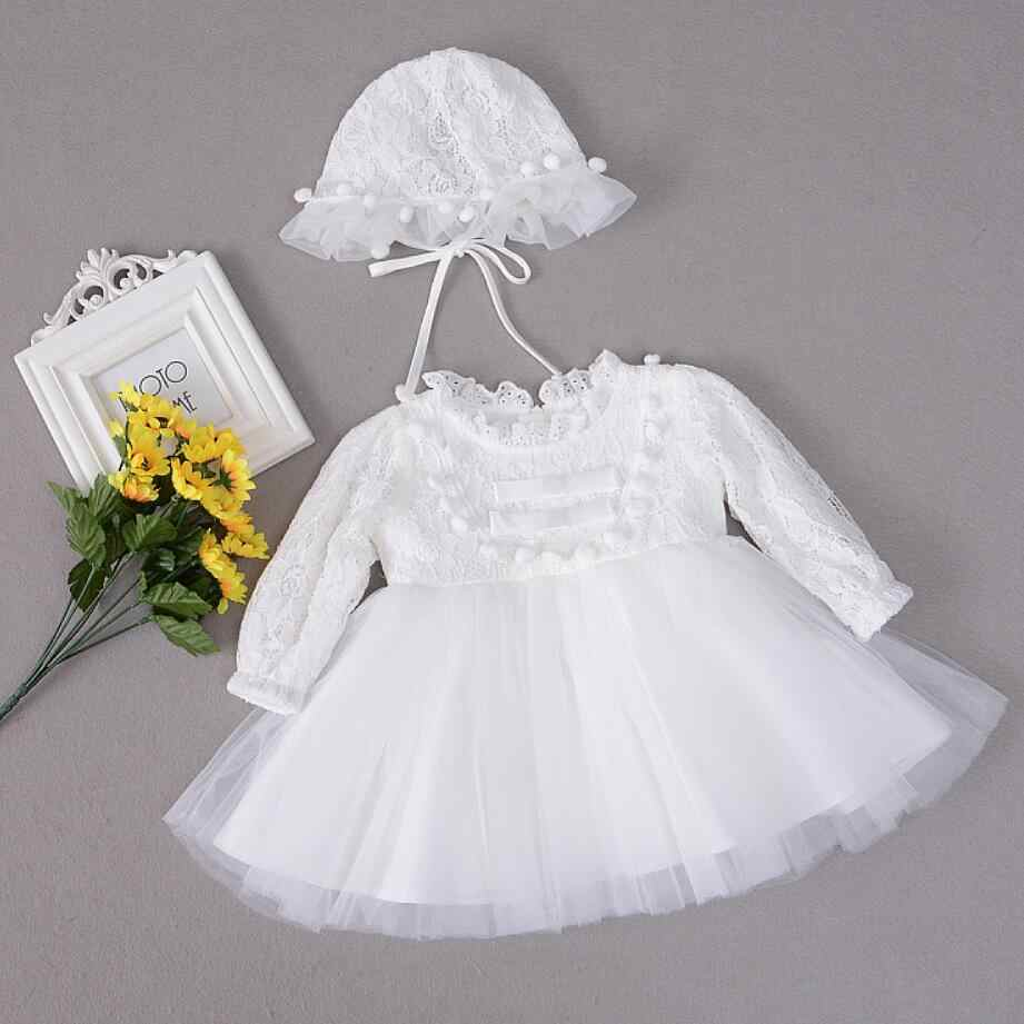 3dac5459226 2PC Baby Girl White Red Balls Double Bows Dresses Christening Gown Dresses  Princess Wedding Party Dress