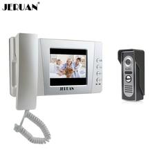 """Jeruan 4.3 """"Цвет проводной видео телефон двери Белл Домофон Комплект ночного видения Камера домофона Бесплатная доставка"""