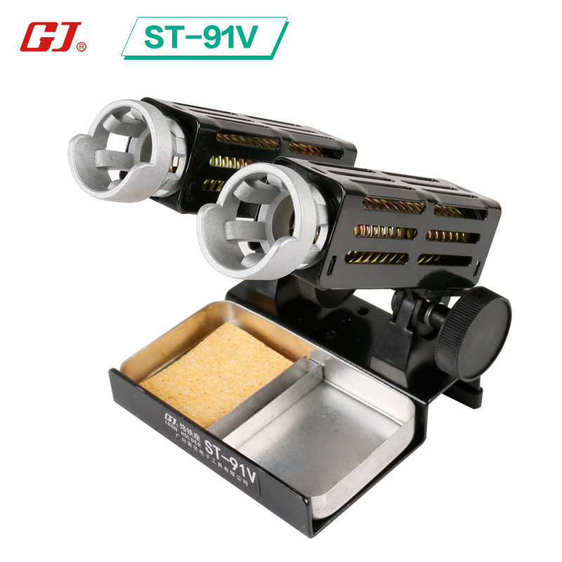 ST-91V Soldering Iron Support Stand Station Metal Base Iron stand With Sponge цена