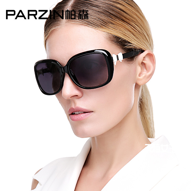 PARZIN  Festival Luxury Sunglasses Polarized For Women Vintage Plus Size Sexy Mirror Sunglasses UV400 Dropshipping