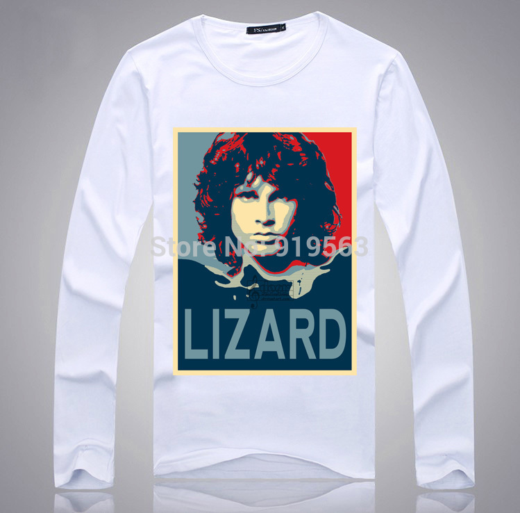 All Jim Morriosn The Doors long full sleeve men women unisex t shirt cool rock n roll fans must have one-in T-Shirts from Menu0027s Clothing u0026 Accessories on ...  sc 1 st  AliExpress.com & All Jim Morriosn The Doors long full sleeve men women unisex t shirt ...