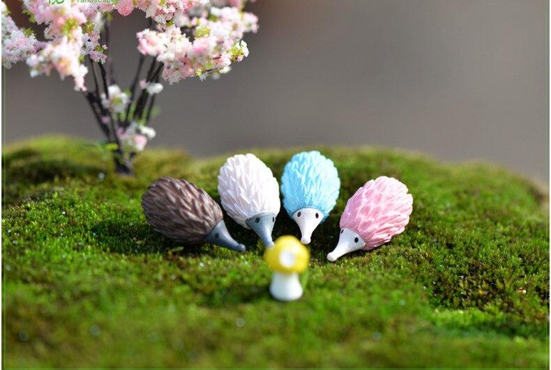 4Pcs Garten Ornament Mini Paar Dollhouse Home Miniatur Pflanze Dekor