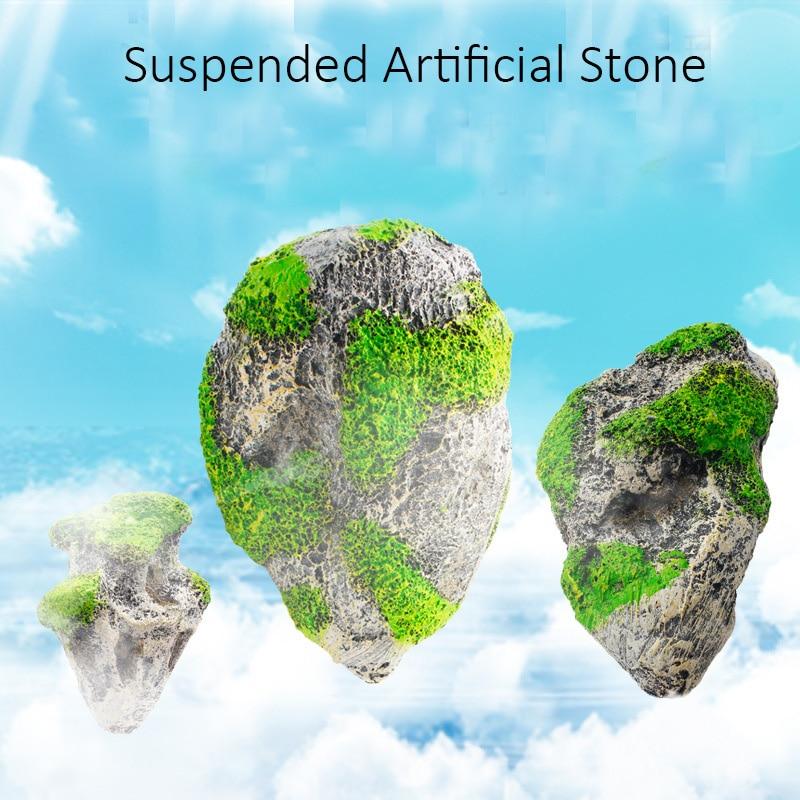 Landscape, Artificial, Stone, Ornaments, Decoration, Suspended