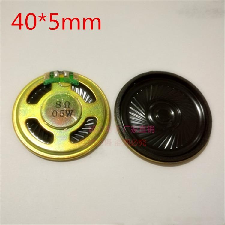1 шт. 0,5 8r/W 0,5 Вт восемь круглых трубок диаметром 50 мм динамик новый и оригинальный фотоэлемент