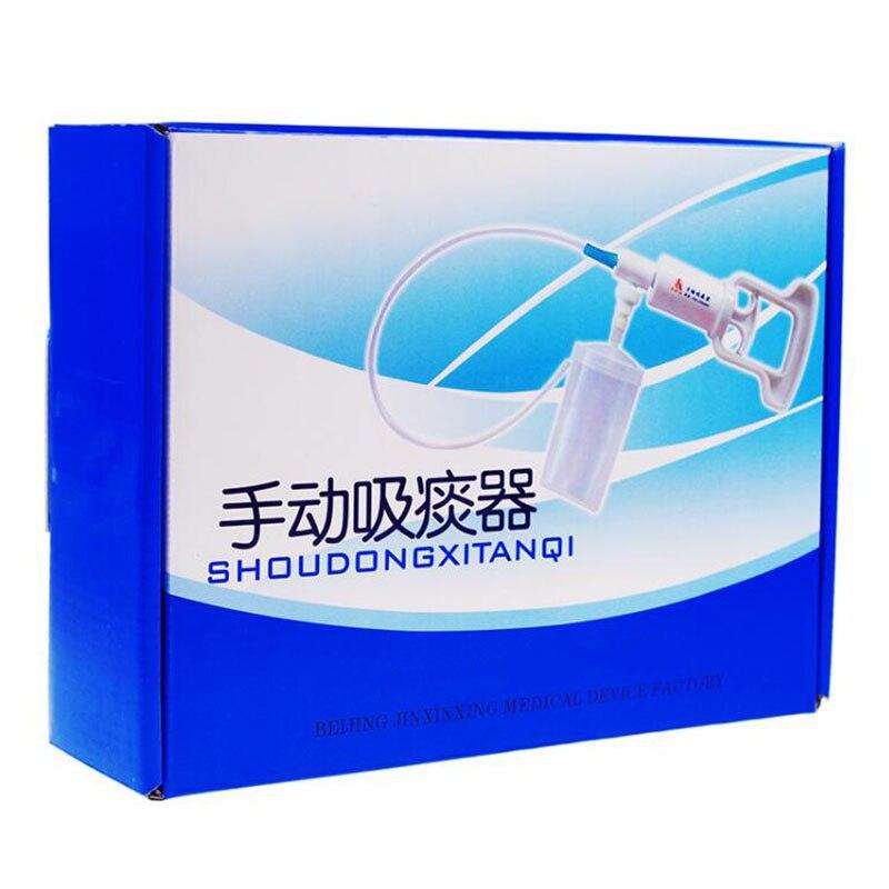Accueil manuel personnes âgées pour l'expectoration portable aspirateur pour obstruction des voies respiratoires flegme et plus crachats manuel