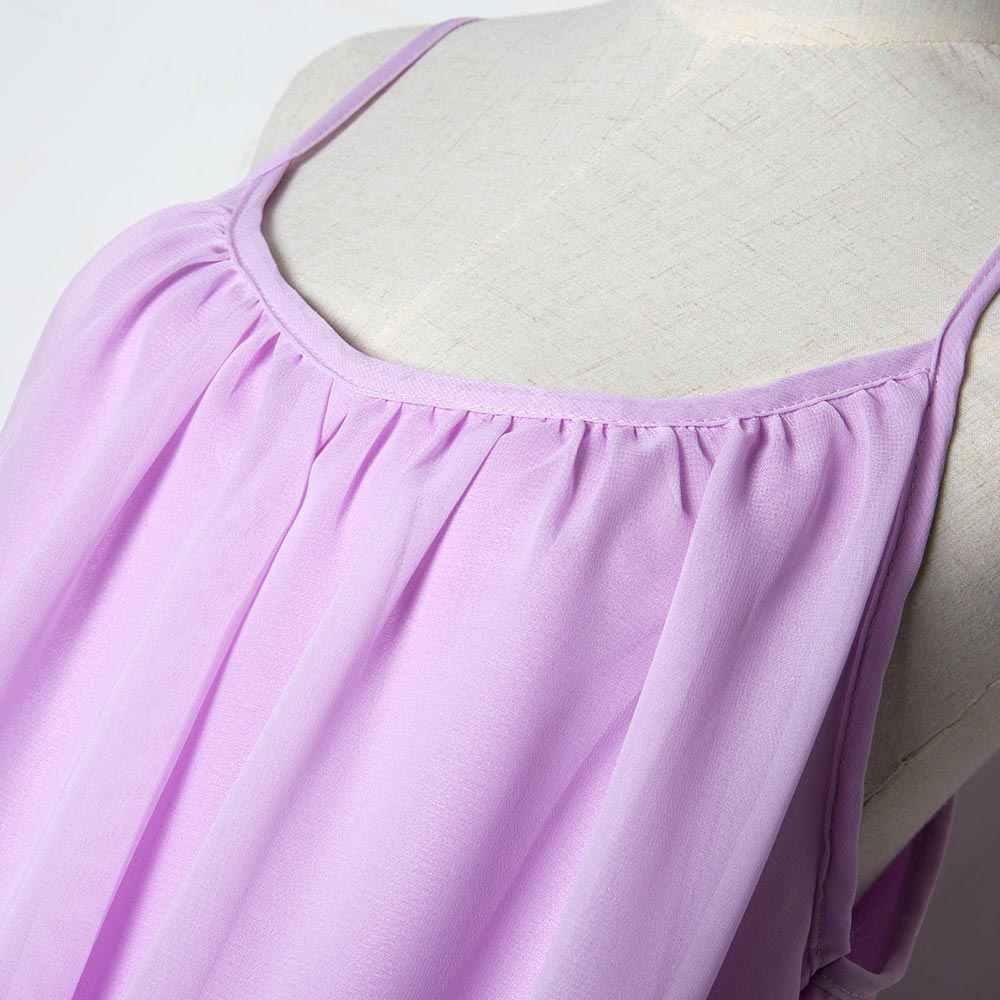 여성 여름 드레스 쉬폰 vestido 여성 드레스 2020 여름 스타일 형광 여성 의류 플러스 사이즈 여성 비치 드레스