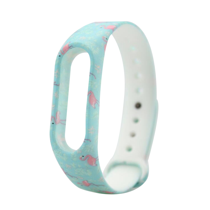 HANGRUI Colorful Xiaomi Mi Band 2 Wristband Miband 2 Strap Bracelet Strap Replacement Smart Band Accessories For Mi Band 2 Band 16
