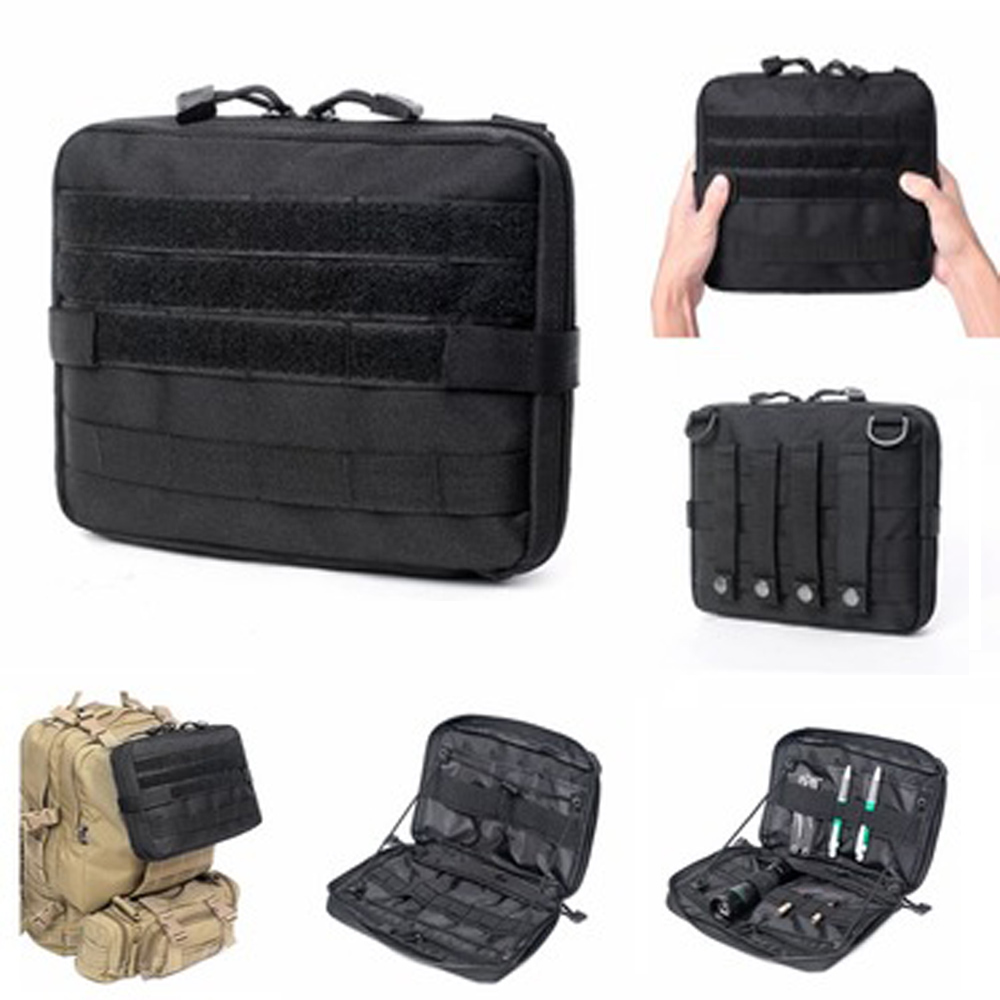 Camping Multifunctional Molle Bag Waist Pack Climbing Emergency Survival Kits Outdoor Travel First Aid Kit Tactical Medical Bag