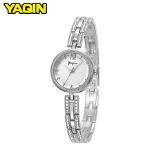 2018 Fashion Women Diamond Watches Top Brand Luxury Stainless Steel Bracelet Ladies Watch Women Bracelet Relogio Feminino