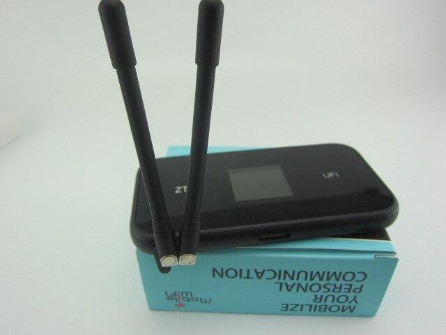 Zte mf980 ufi lte mobile hotspot 4g + lte cat9 wifii routeur plus 2 pcs antenne
