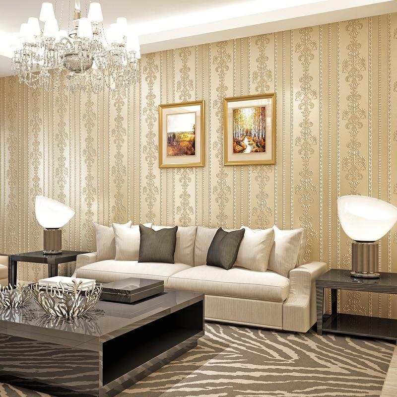 beibehang Modern warm simple minimalist wallpaper for