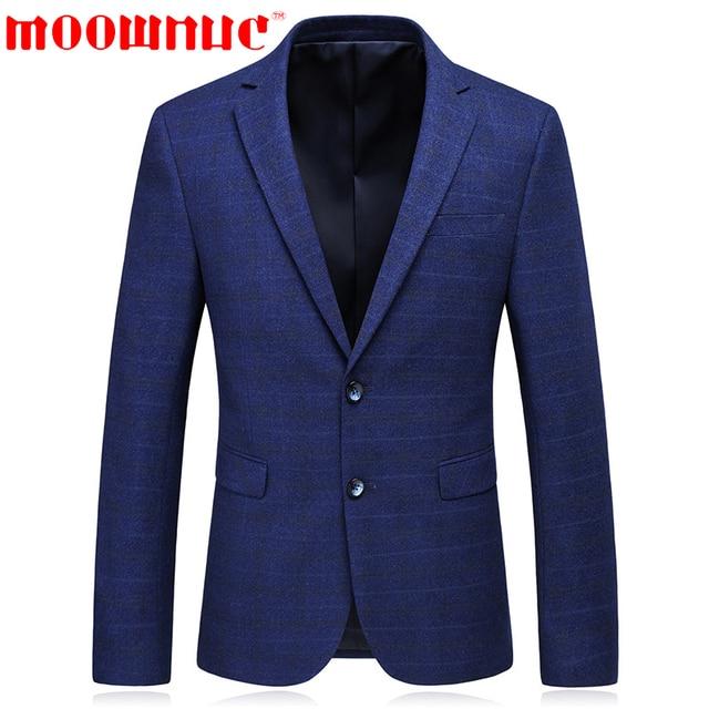 dd5428f307591 Костюм для отдыха мужская синяя рабочая одежда Повседневная  Высококачественная официальный деловой костюм модное пальто обтягивающие кла