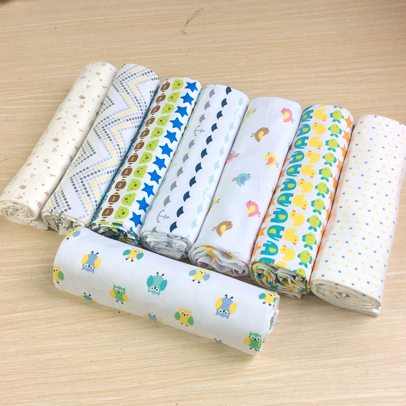New 100x76cm crib sheets baby knitted cotton bed sheets ...
