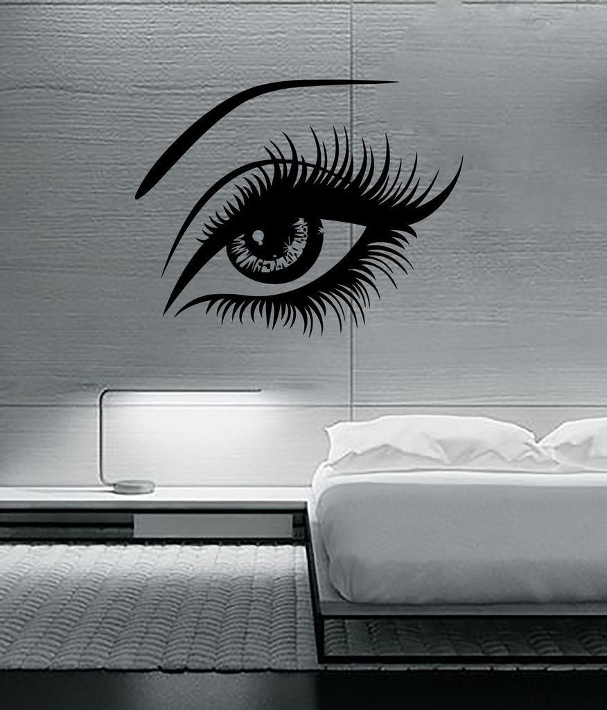 compare prices on big wall murals online shopping buy low price big eye lashes vinly wall stickers sexy beautiful female eye wall decal decor home wall mural