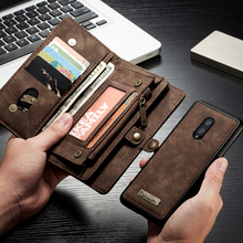 Case For Oneplus 7 Case Pro Flip Leather Wallet On Cover