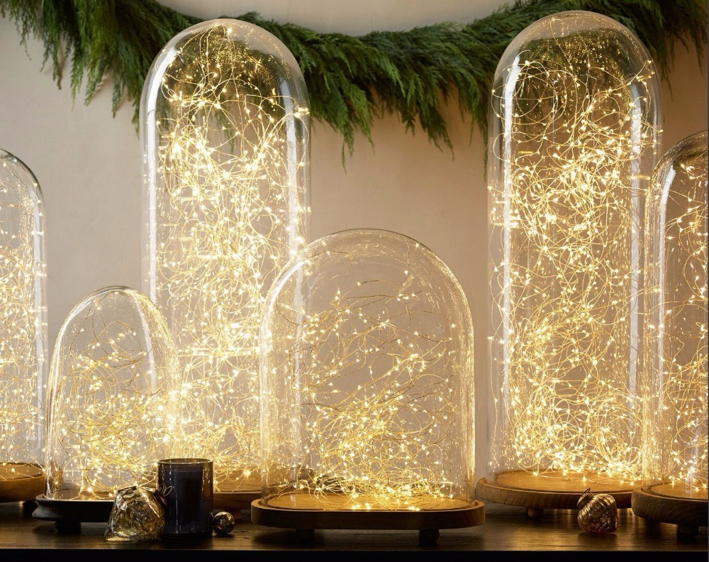 2M 20 LED Bottle String Lights Button Battery Operated Fairy Lights ...