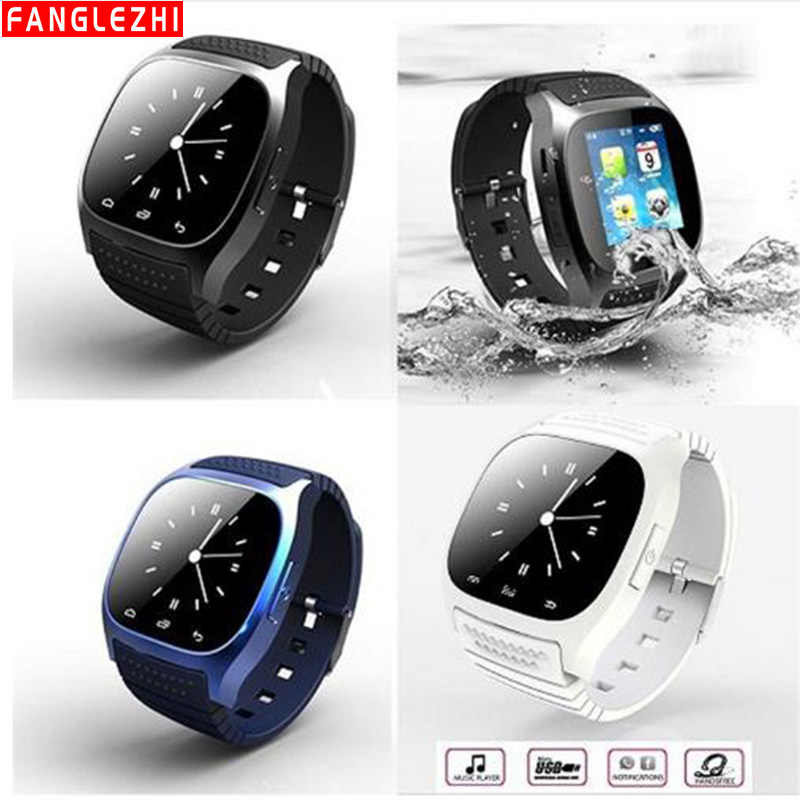 M26 Smart Watch Bluetooth Sport Smartwatch Wristwatch Waterproof With Dial SMS Remind For IOS Android Samsung Xiaomi Apple Phone